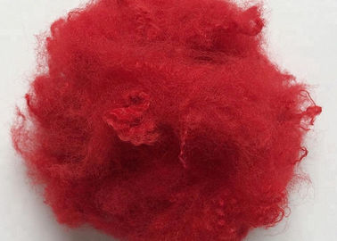 China Flame Retardant Regenerated Polyester Fiber , Polyester Staple Fiber 6D X 102MM supplier