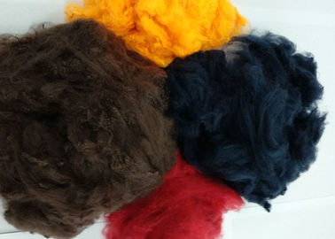 China Multiple Colour Hollow Conjugated Polyester Staple Fiber For Non Woven Fabric supplier