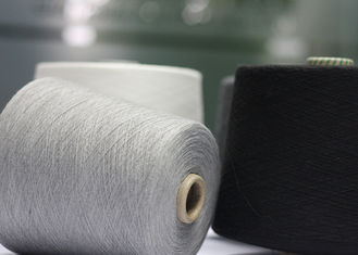 China Grade AAA Ring Spun Polyester Yarn 18S 21S 32S For Knitting And Weaving supplier