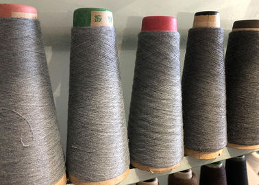 China Custom Recycled Polyester Yarn , Core Spun Polyester Semi Dull Yarn Anti - Distortion supplier