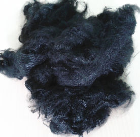 polyester staple fiber dope dyed black for yarn spinning and non woven