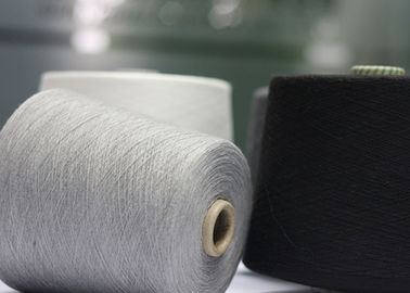 Grade AAA Ring Spun Polyester Yarn 18S 21S 32S For Knitting And Weaving