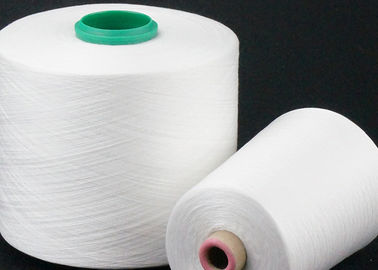 100% Polyester Ring Spun Yarn 30 / 1 40 / 1 , Multiple Colour Polyester Twisted Yarn